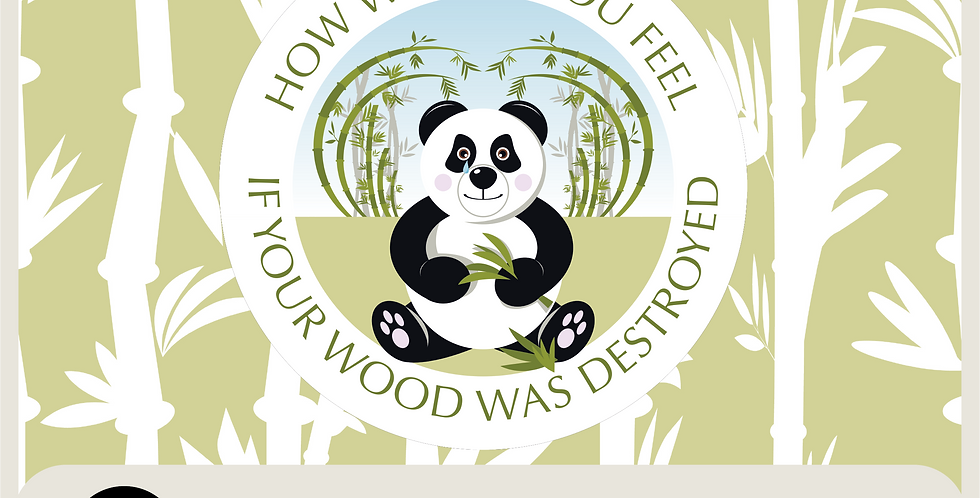 SAD PANDA - SPOT GRAPHIC AND PATTERN