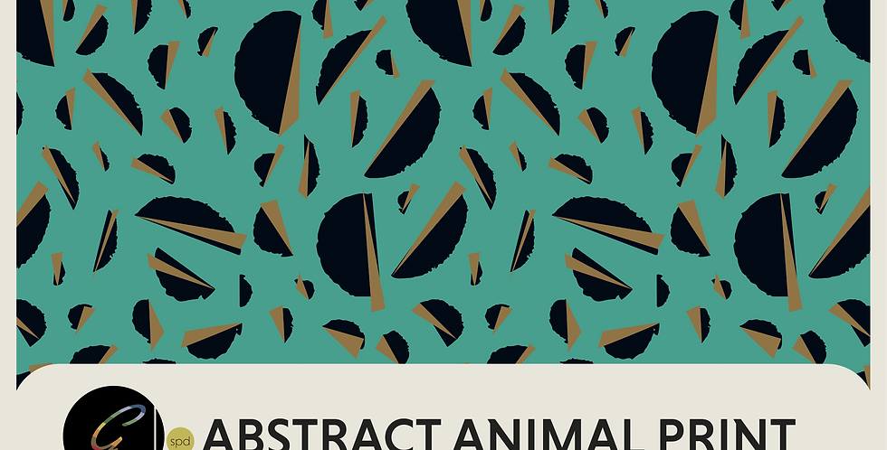 ABSTRACT ANIMAL PRINT - PATTERN