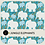 Thumbnail: JUNGLE ELEPHANTS - 3 PATTERNS