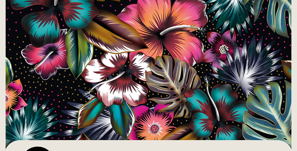 TROPICAL TOUCH - RASTER PATTERN