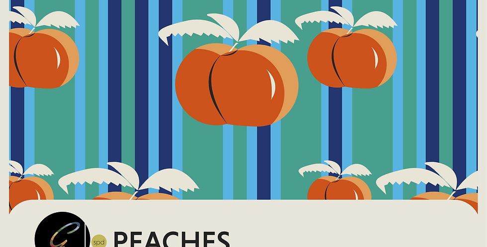 PEACHES -3 PATTERNS