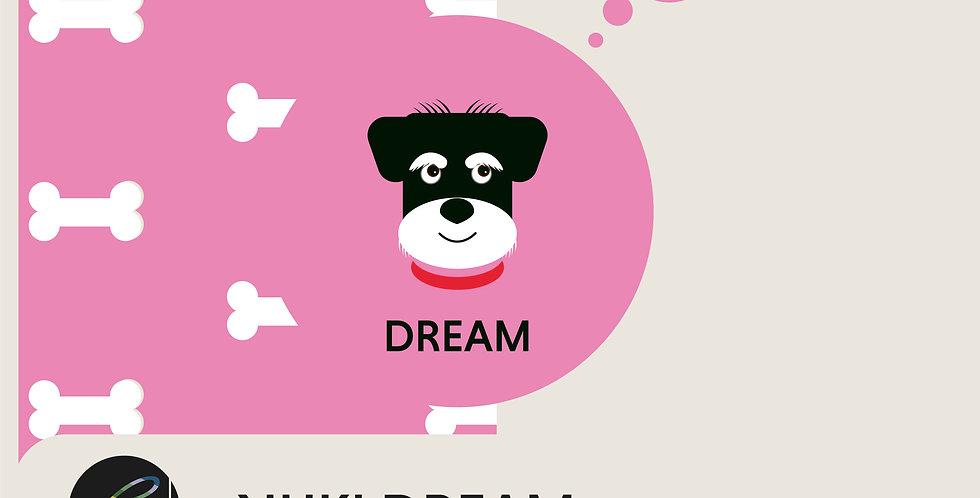 NUKI DREAM - SPOT GRAPHIC + COORDINATED PATTERN