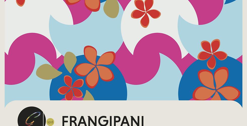 FRANGIPANI - PATTERN
