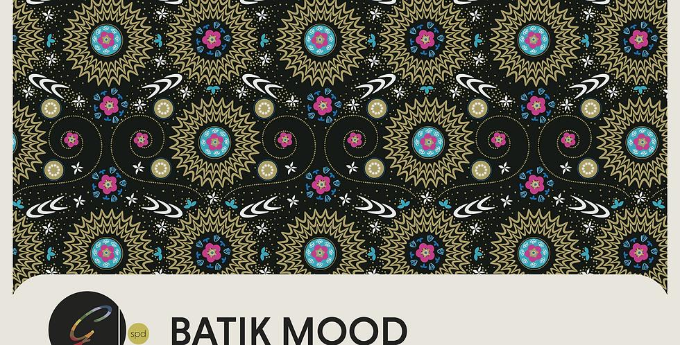 BATIK MOOD - 3 PATTERNS + 5 SPOT GRAPHICS