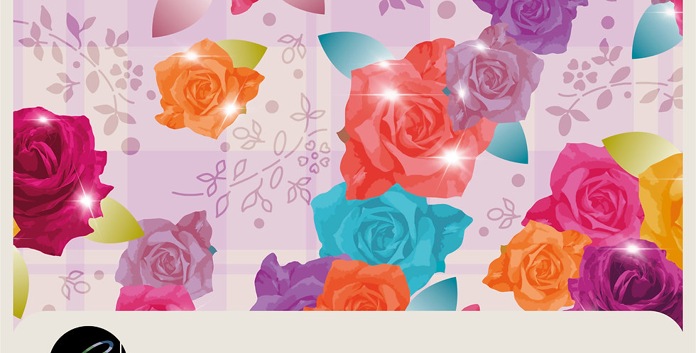 SPARKLING ROSES - PHOTOSHOP LAYERED FILE