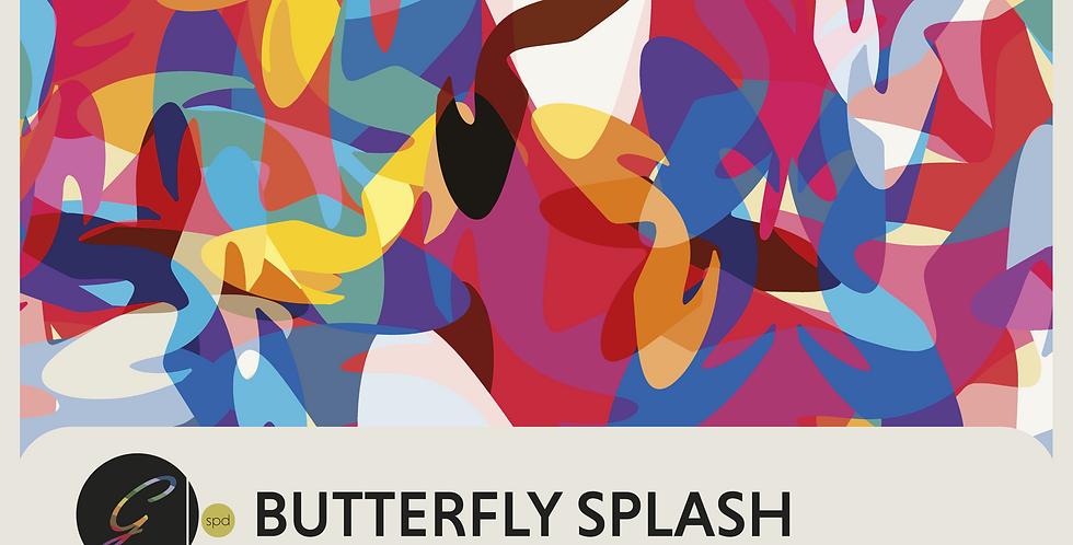 BUTTERFLY SPLASH - DIGITAL PATTERN