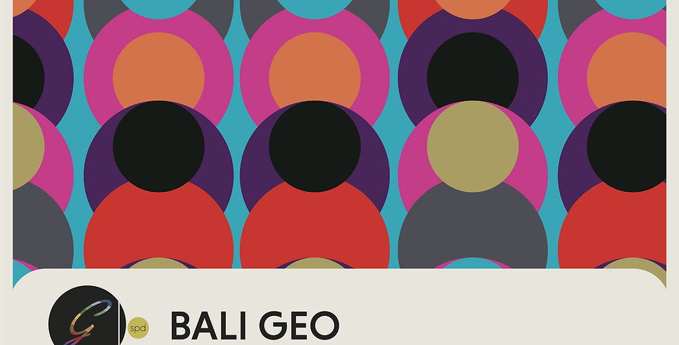 BALI GEO + BALI GEO 2  - 2 PATTERNS