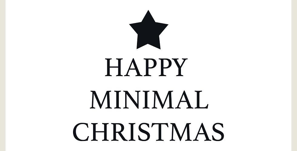 MINIMAL CHRISTMAS - 2 PATTERNS + SPOT GRAPHIC