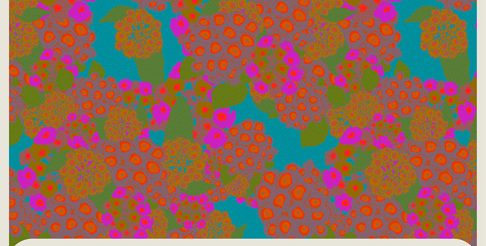BOUQUET : 2 DIGITAL PATTERNS