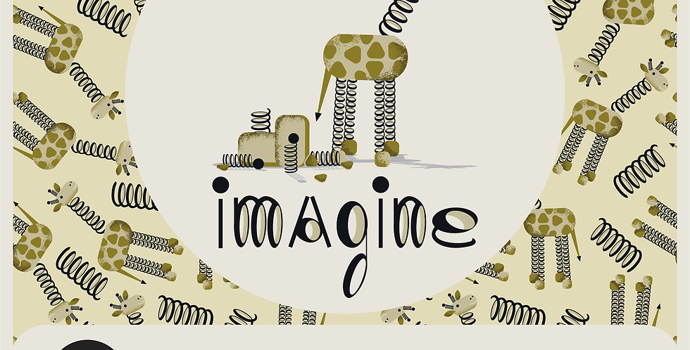 IMAGINE - VECTOR SPOT GRAPHIC + PATTERN