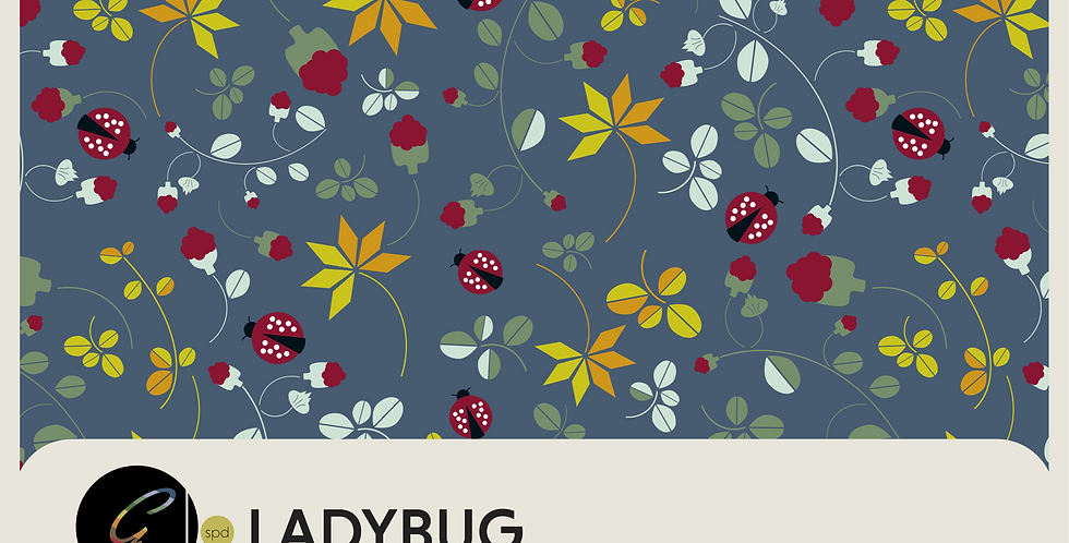 LADYBUG  COLLECTION - 5 PATTERNS + SPOT GRAPHIC