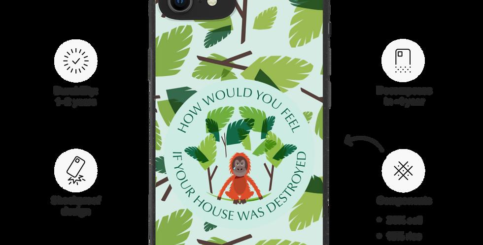 Sad Orangoutan - Biodegradable phone case