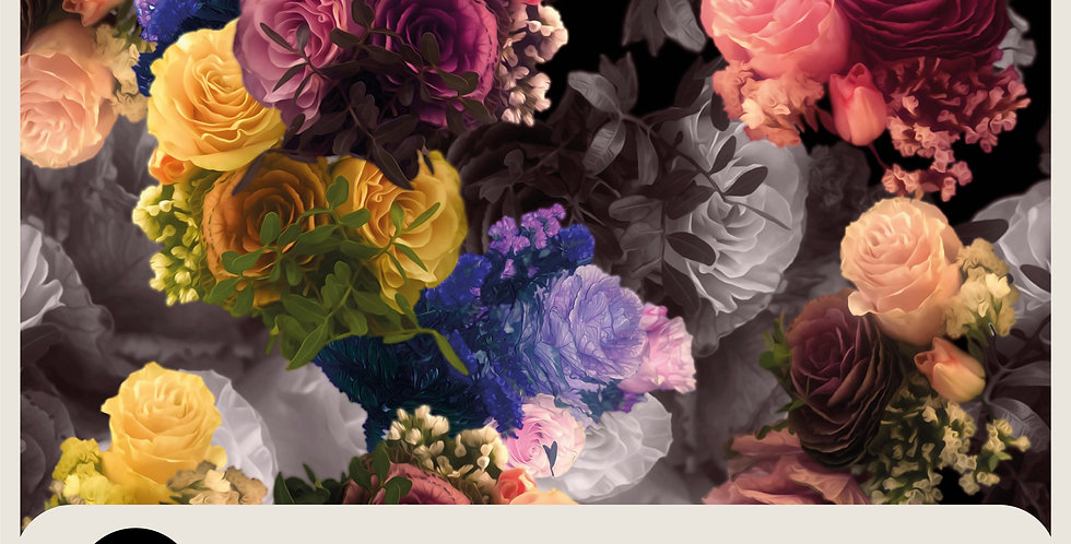 BIRTHDAY BOUQUET - PHOTOSHOP LAYERED FILE