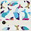 Thumbnail: DOLPHINS: BLUE + COLOR - 2 PATTERNS