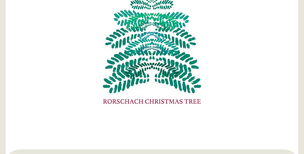 RORSCHACH CHRISTMAS TREES - DIGITAL SPOT GRAPHIC