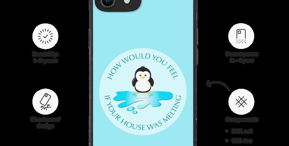 Sad Penguin - Biodegradable phone case