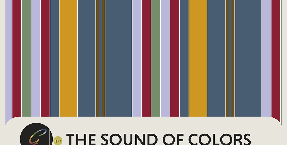 THE SOUND OF COLORS  -  SPOT GRAPHIC+ 3 PATTERNS