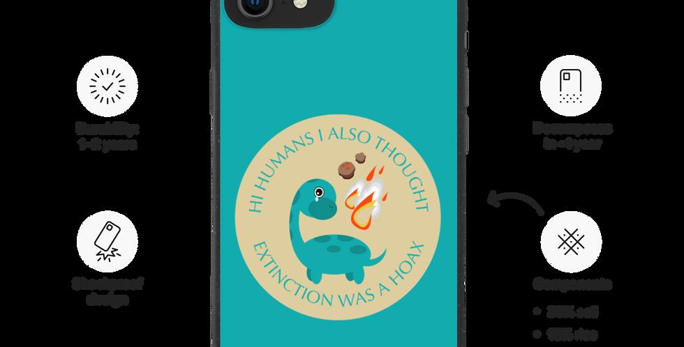 Sad Dino - Biodegradable phone case