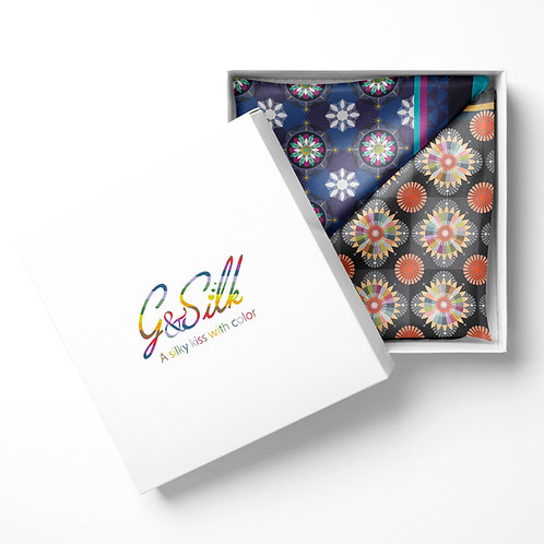 Pocket Duo Mosaique + Stars  - by Claudia Saller