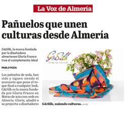 La Voz de Almeria G&Silk