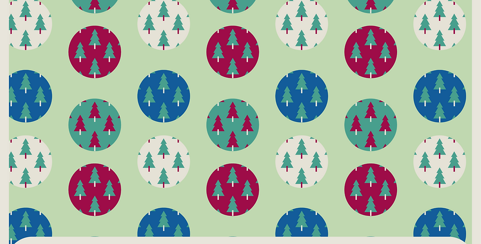 CHRISTMAS TREES - 2 PATTERNS
