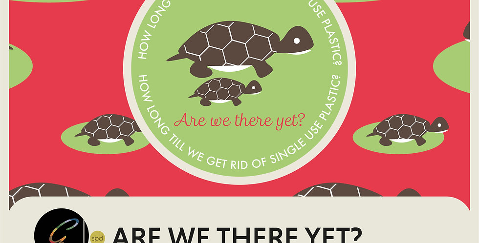 ARE WE THERE YET  - 2 SPOT GRAPHICS + 2 PRINTS