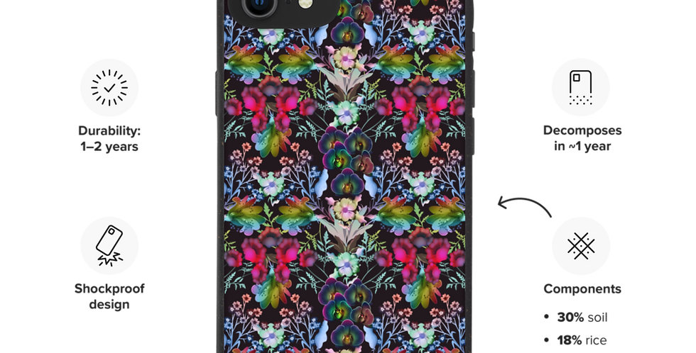 Flowers from Mars - Biodegradable phone case