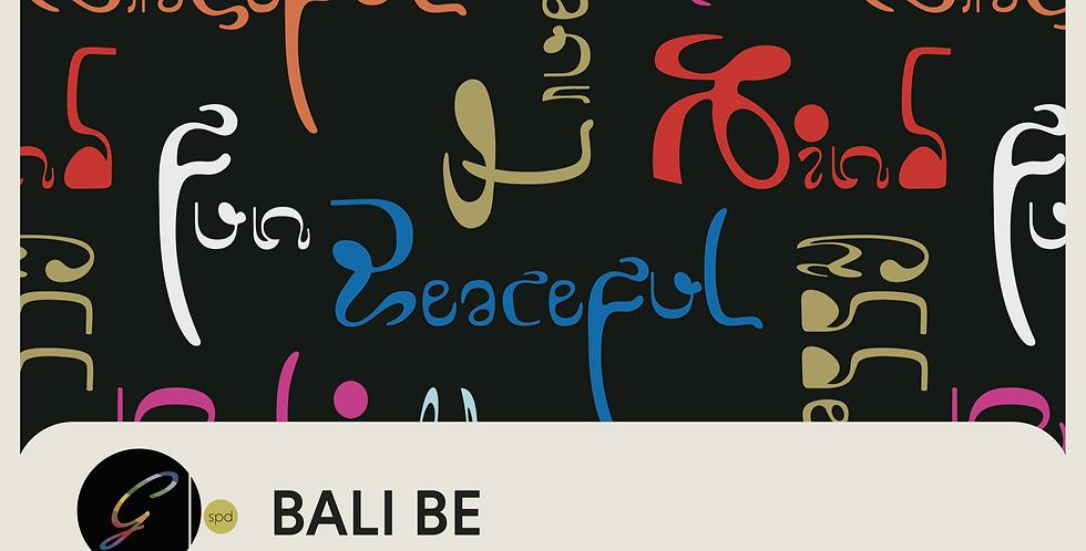 BALI BE - PATTERN + SPOT GRAPHIC