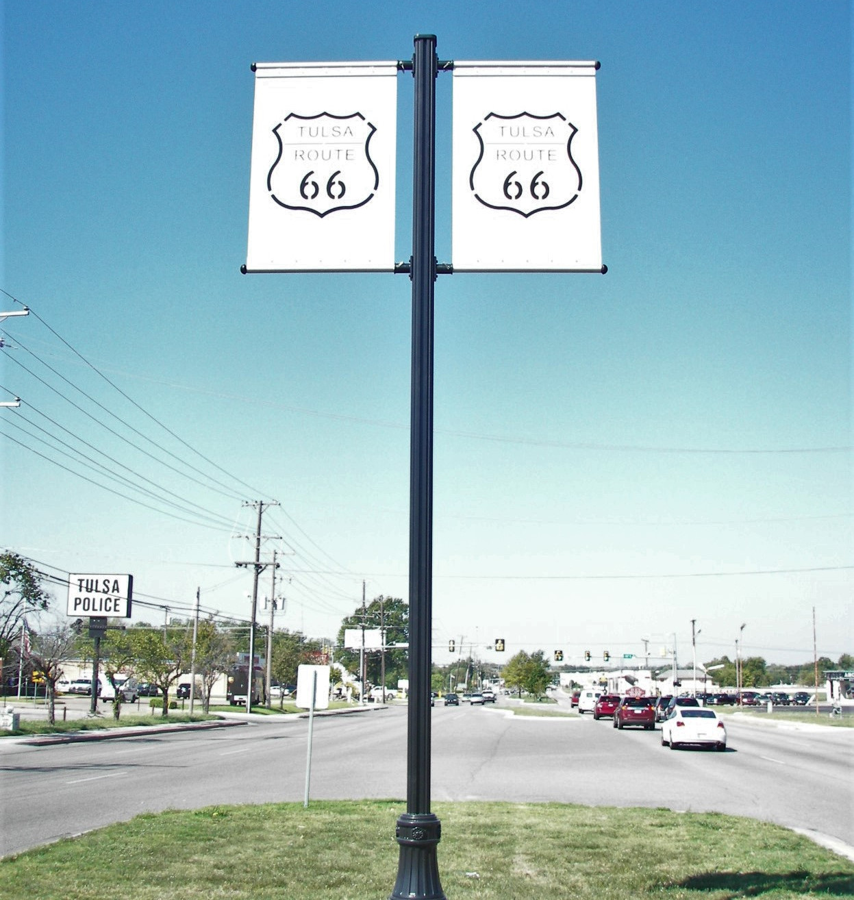 Rt 66 Road Sign