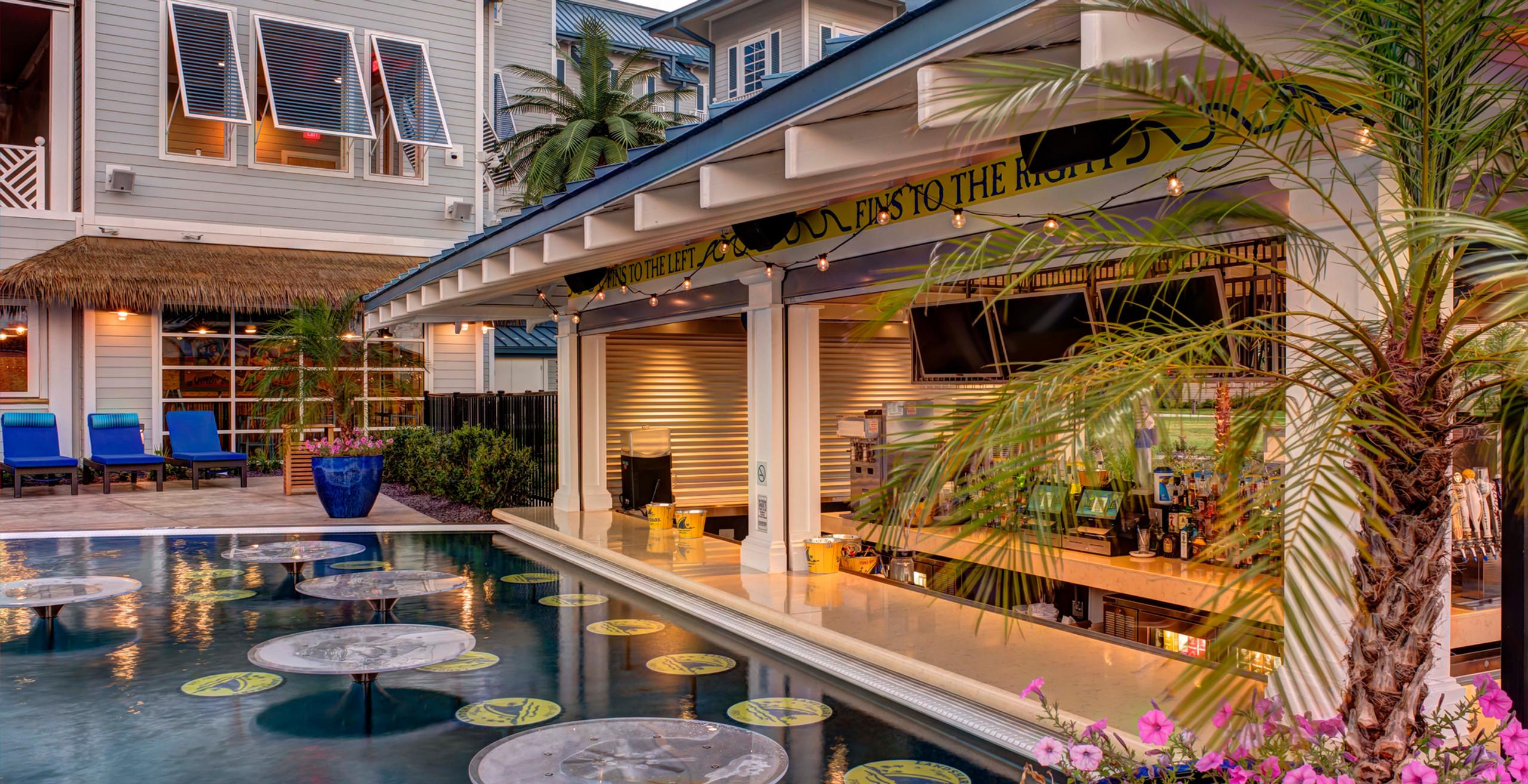 Landshark Pool Bar, RSC Resort