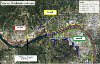 USACE Levee District 12 Feasibility Study -           Sand Springs & West Tulsa, OK