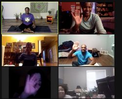 Yoga Flow for Artists with Coach Casie c