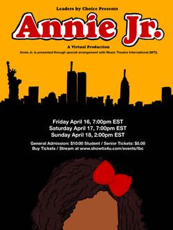 Annie Jr. Flyer