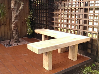 Eight ideas for using timber in the garden