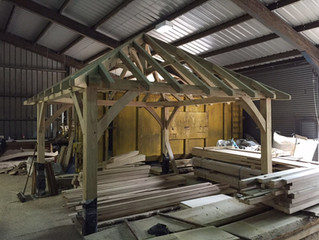 Cottenham Sawmills expands its product range with the introduction of self-assembly timber structure