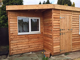 Bespoke larch timber studios available across Cambridge