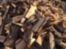 Larch firewood
