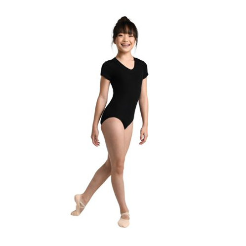 Danshuz Cap Sleeve Leotard