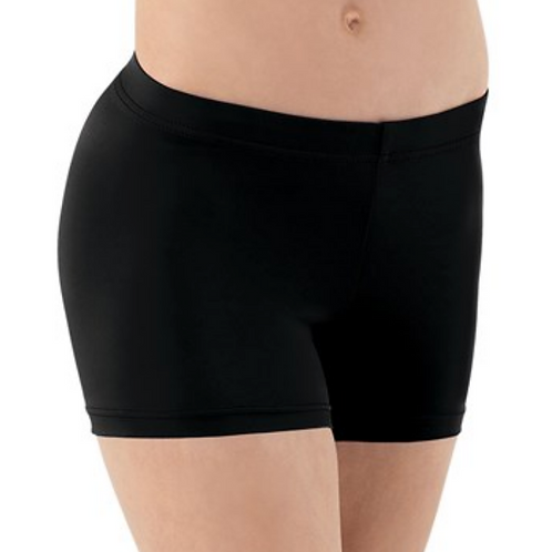 Balera Child Black Dance Shorts