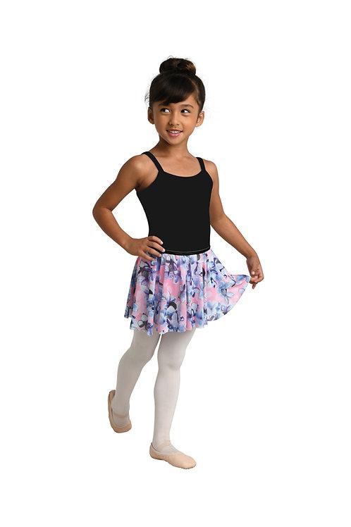 Danshuz Hydrangea Printed Circle Skirt