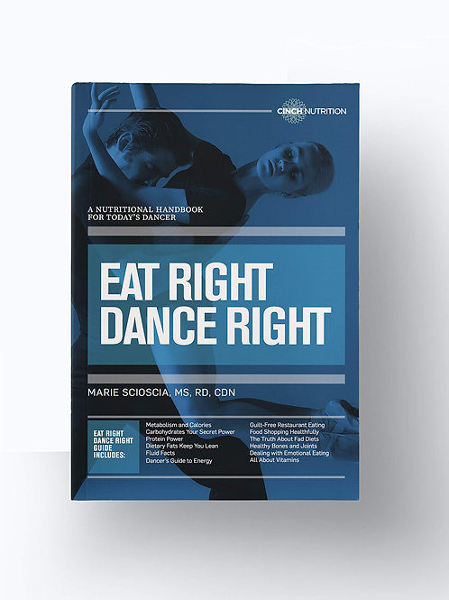 Eat Right Dance Right Book by Marie Scioscia