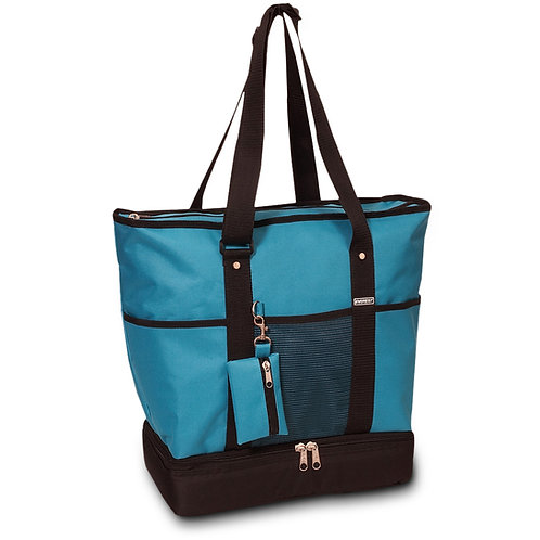 Everest Turquoise Tote Bag