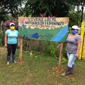 "Vivero comunitario ""Naturaleza y Esperanza; luchando por un territorio digno"