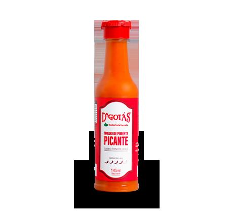 Molho de Pimenta Sabor Tomate Seco Picante - 145ml
