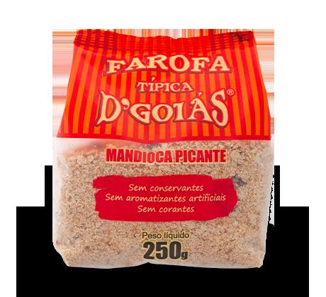 Farofa de Mandioca Picante