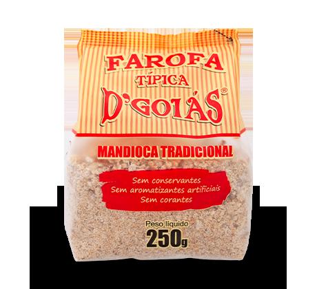Farofa de Mandioca Tradicional