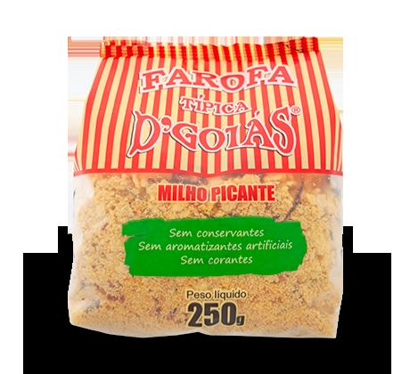 Farofa de Milho Picante