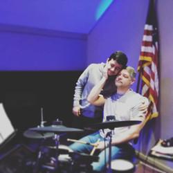 drumming duo