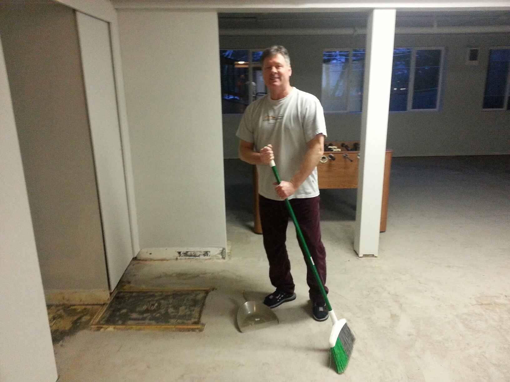 pastor sweeper