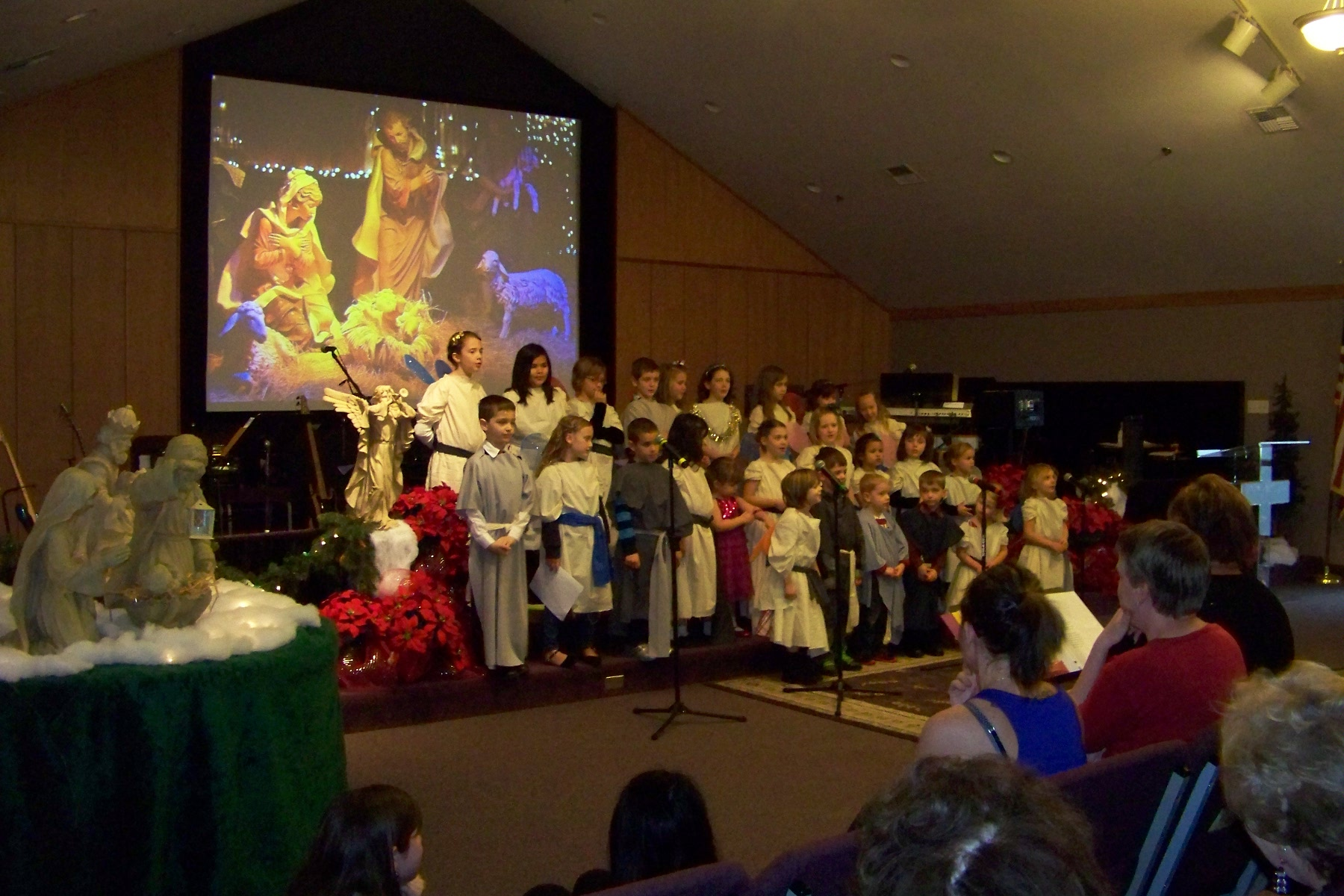children christmas 2012
